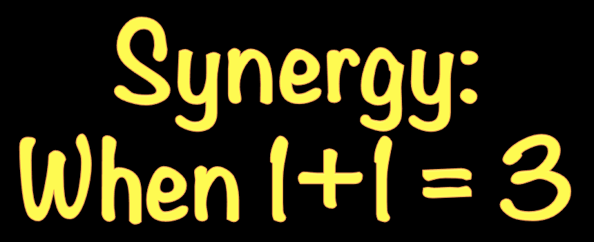 Synergy: Where the Whole is Greater than the Sum of its Parts