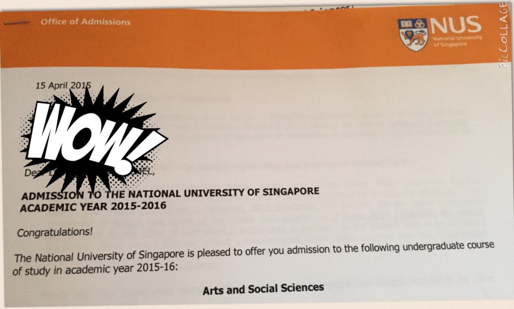 From (S)ubpasses and (U)ngradeds in JC1 to a Place in NUS