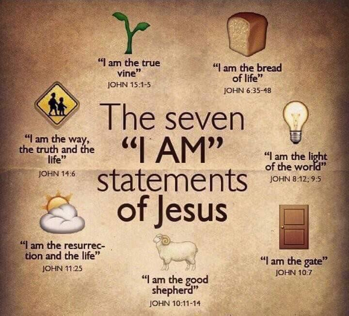 """Jesus, the """"I AM"""" of our lives"""